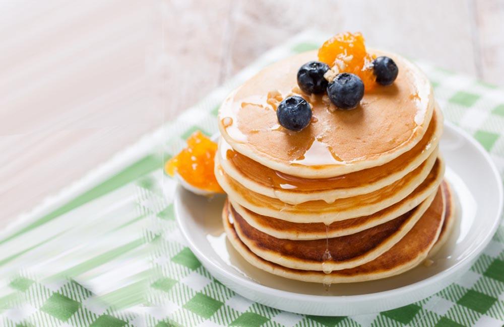 """""""Pancakes"""" saludables, un desayuno diferente"""